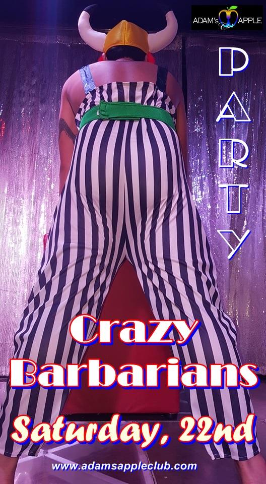 Crazy Barbarian Adams Apple Club Chiang Mai