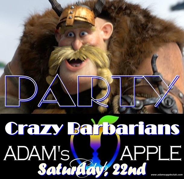 Crazy Barbarian Adams Apple Club CNX