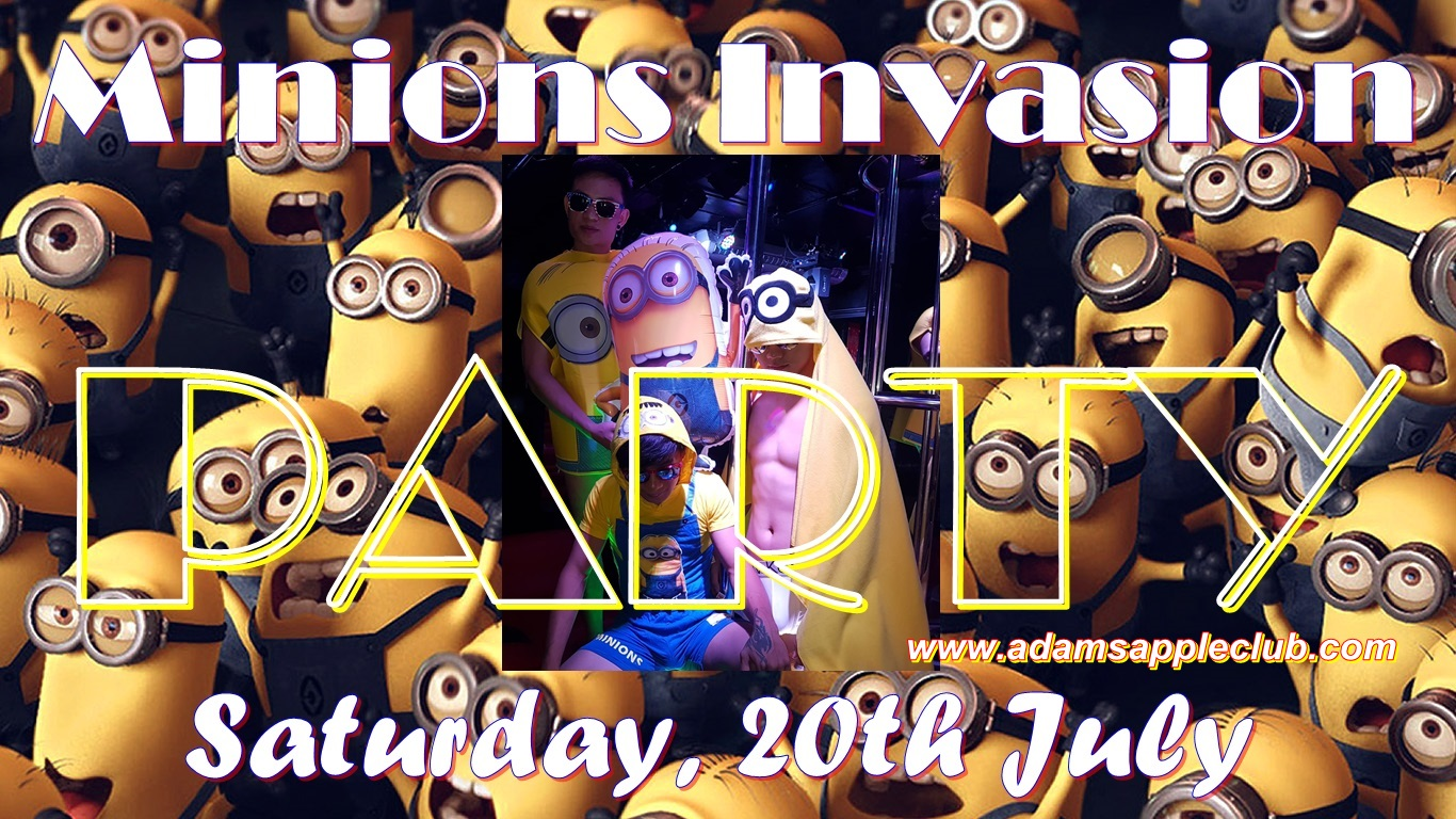 Minions Invasion Adams Apple Club Chiang Mai