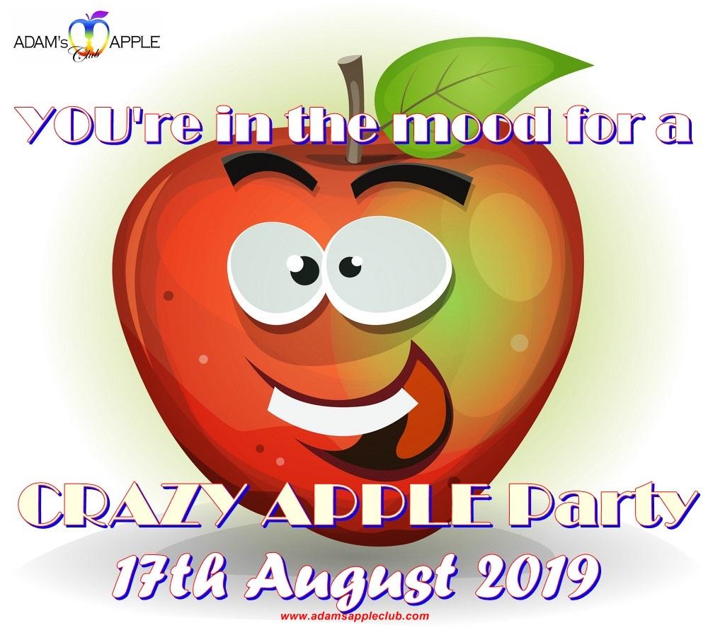 Crazy Apple Party Adams Apple Club