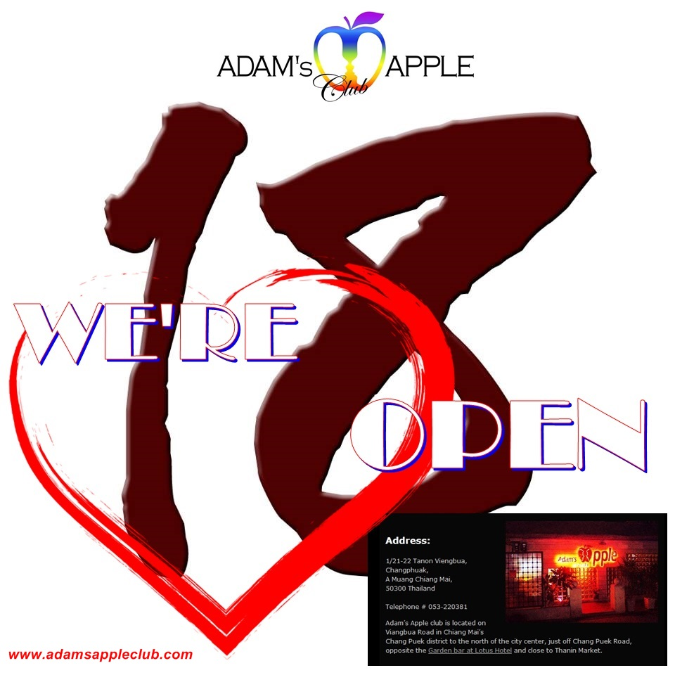 We are OPEN 18th July Admas Apple Club