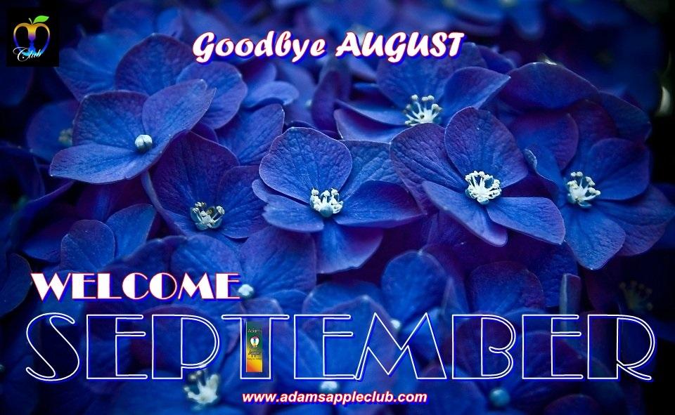 Godbye Agust Welcome September 2019