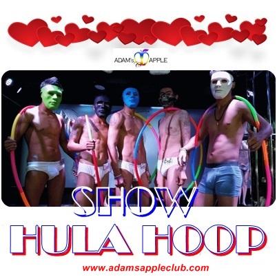 Amazing Hula Hoop Adam's Apple Club