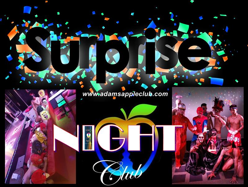Surprise PARTY Adams Apple Club CNX