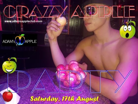 Adams Apple Club Crazy Apple Party