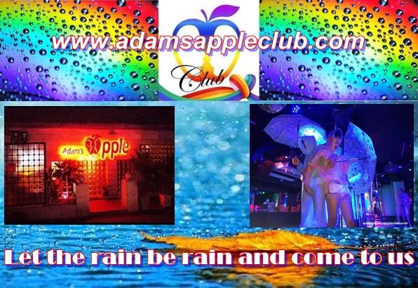 Adams Apple Club Let the rain