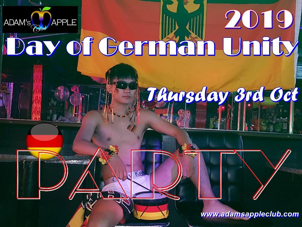 Day of German Unity 2019 Adams Apple Club