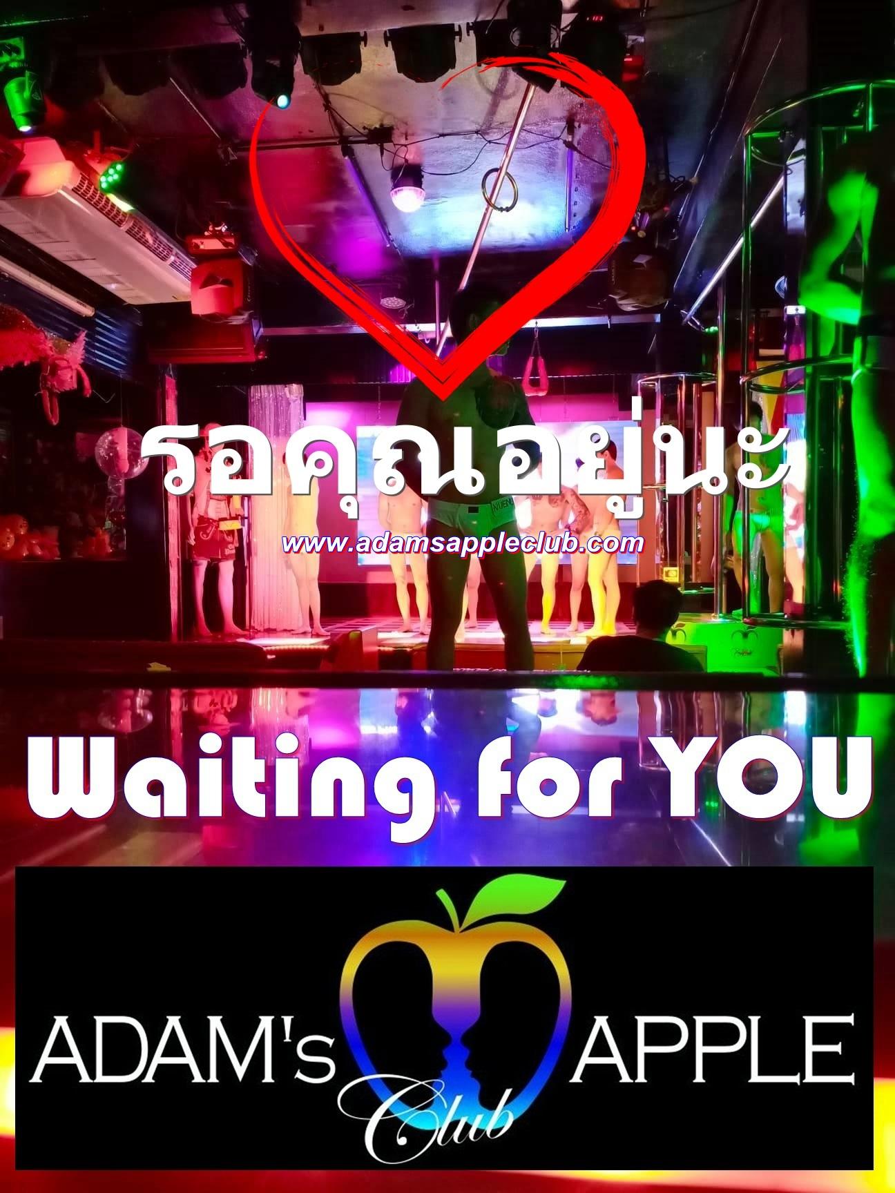 Waiting for YOU รอคุณอยู่นะ Boys Adams Apple Club