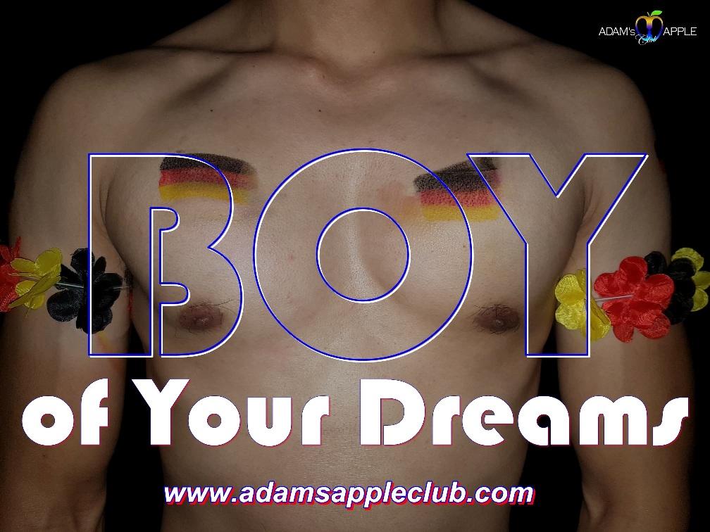 BOY of Your Dreams Adams Apple Club