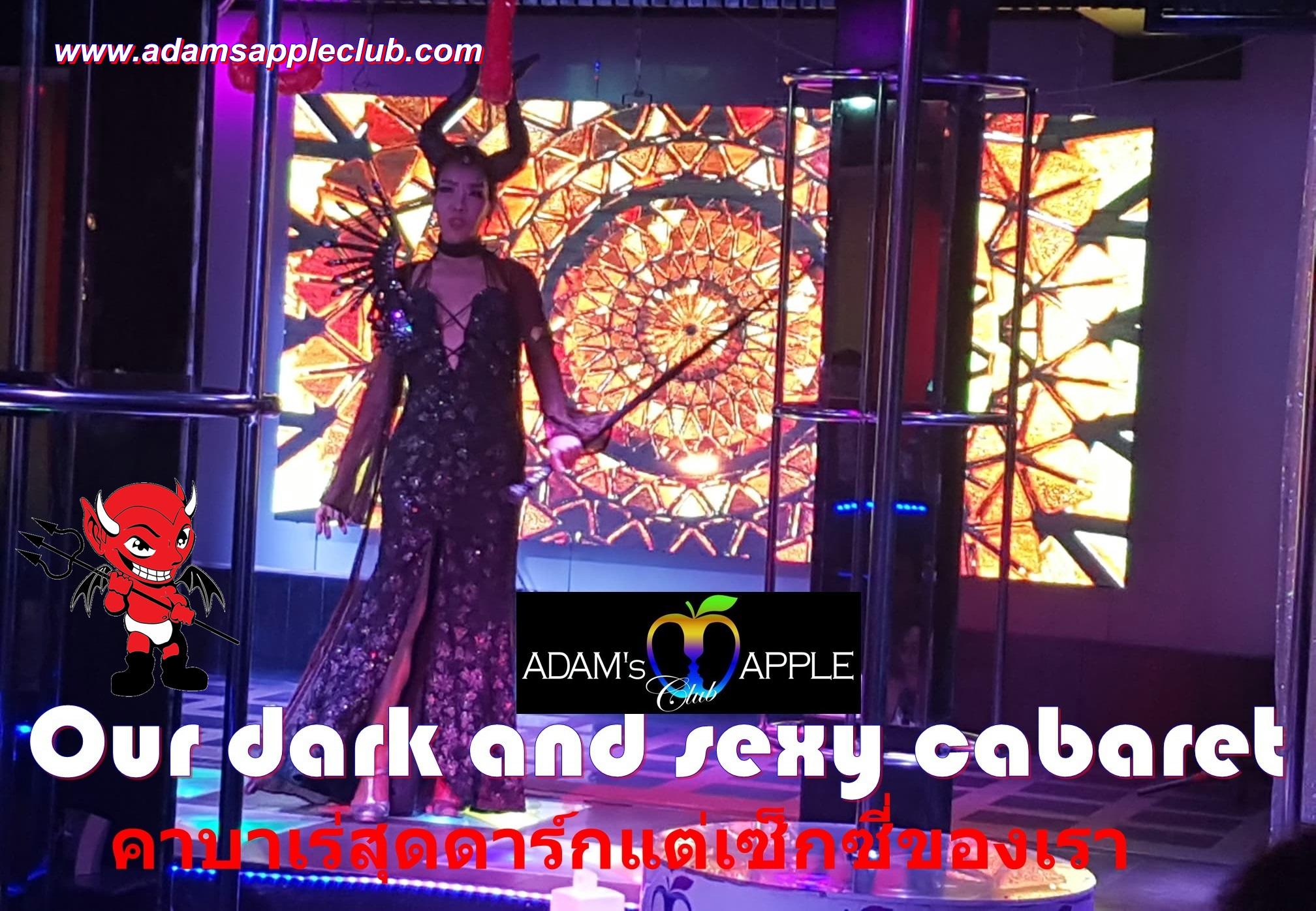 Our dark and sexy cabaret Adams Apple Club