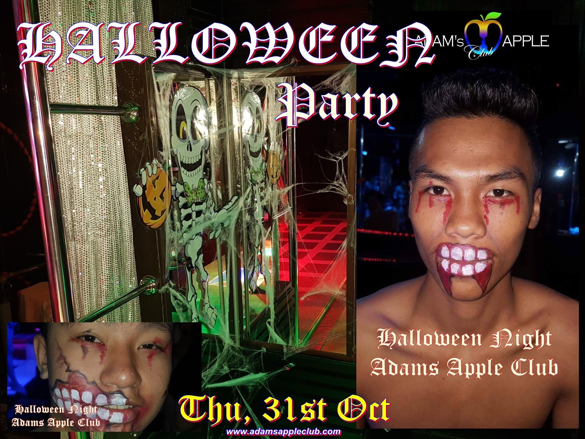 HALLOWEEN Party Adams Apple Club Chiang Mai