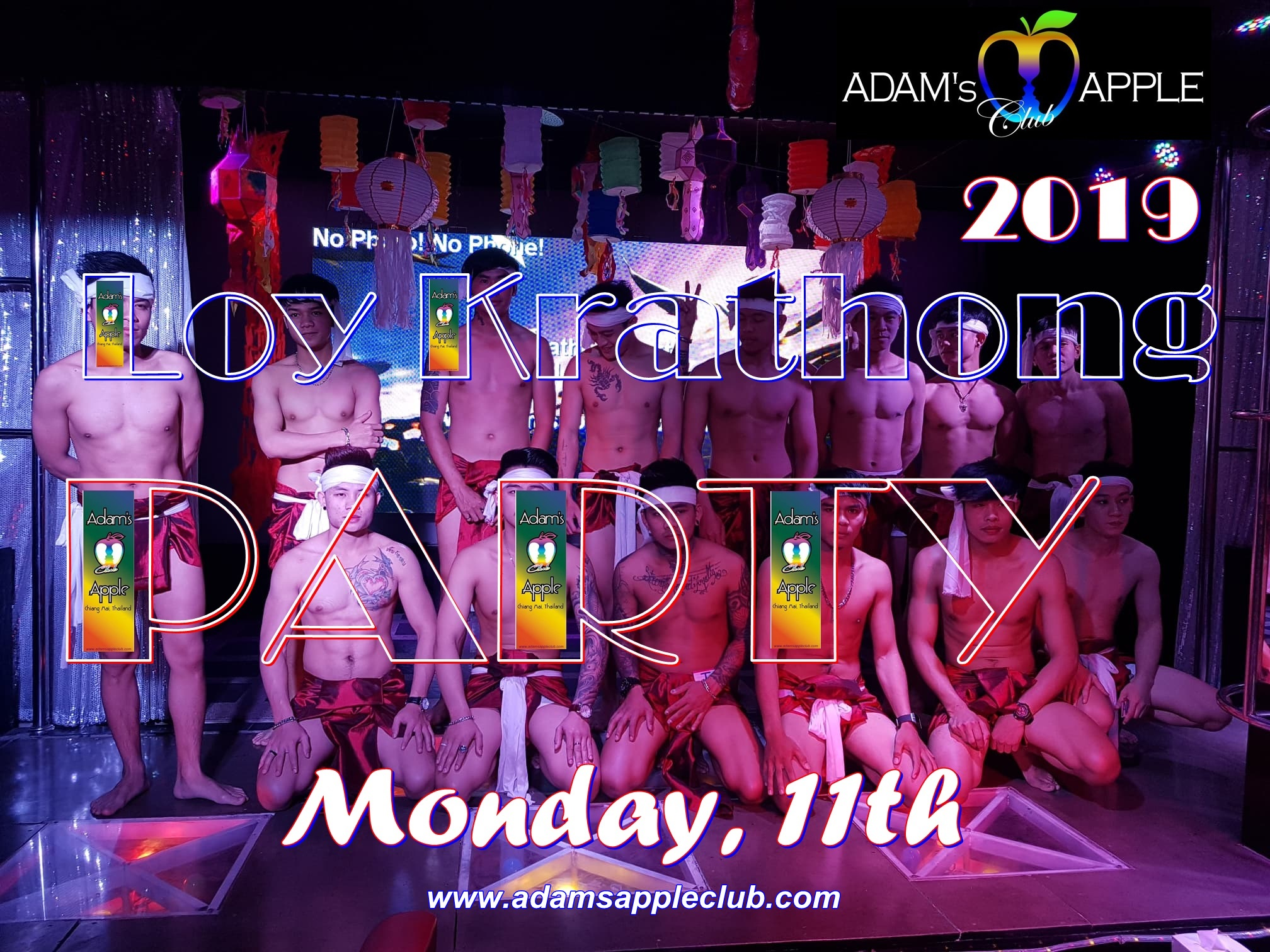 Loy Krathong 2019 PARTY Adams Apple Club