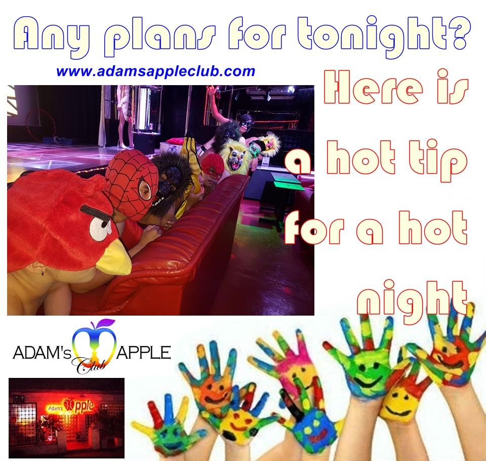 Adams Apple Club Any plany for tonight