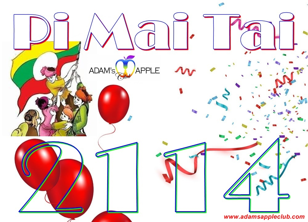 Happy Tai Yai New Year 2114 Adams Apple Club