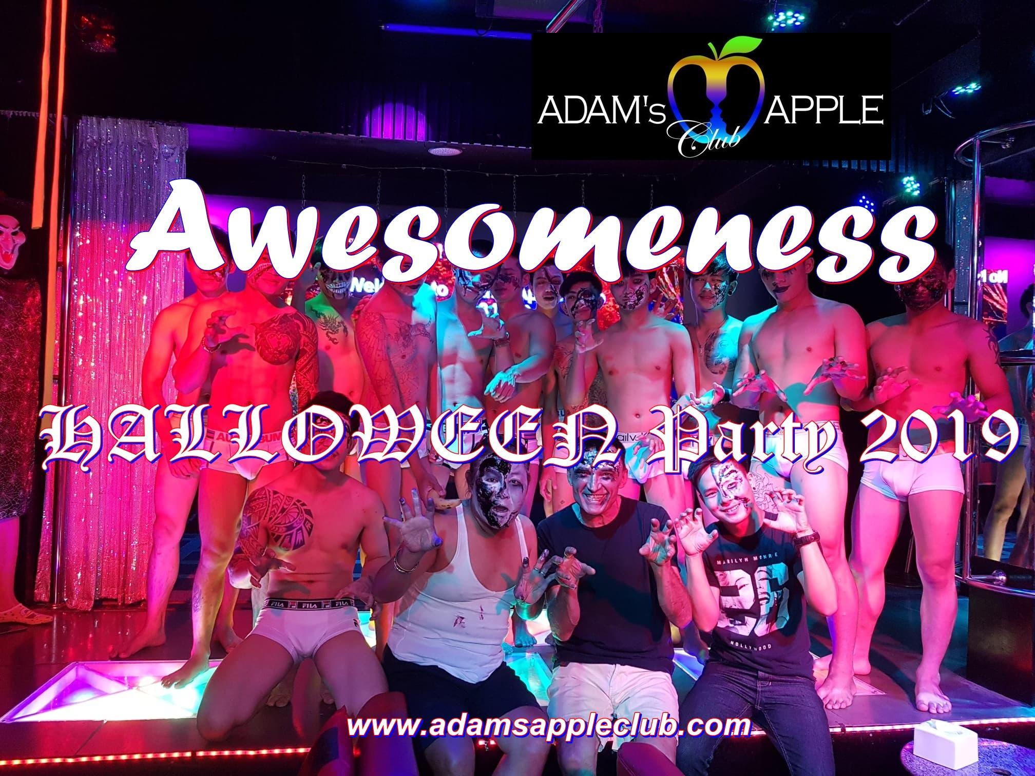 Awesomeness Halloween Adams Apple Club