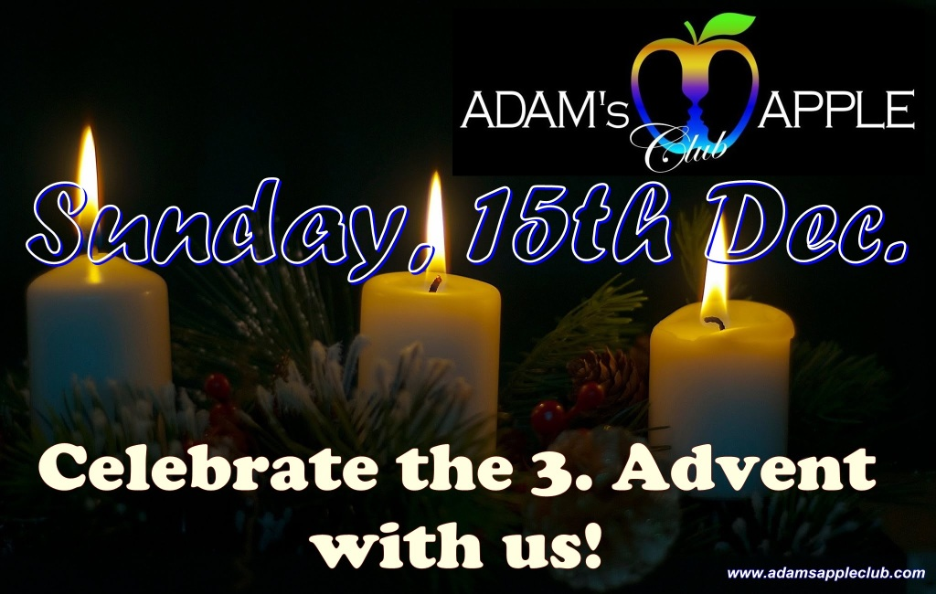 3th Advent 2019 Adams Apple Club