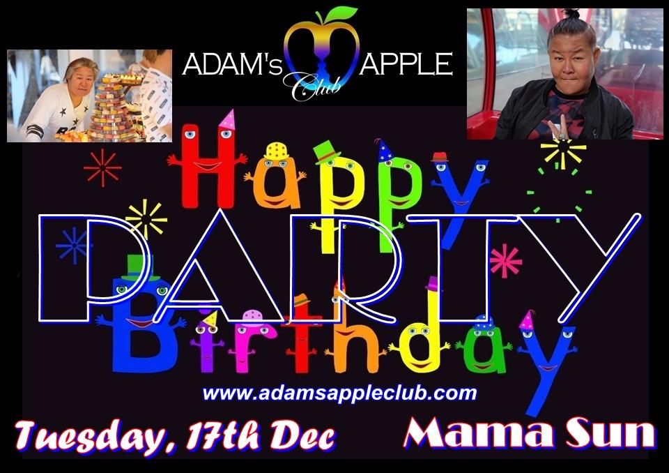 HBD Mama Sun 2019 Adams Appel Club