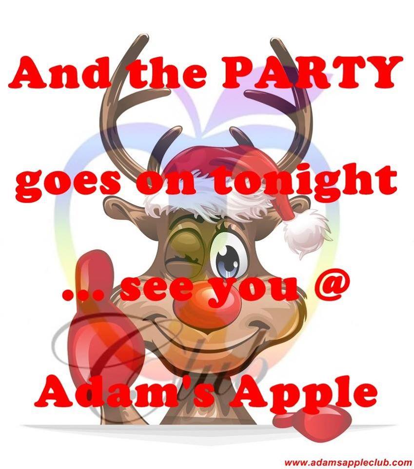2nd Day X-MAS Party Adams Apple Club