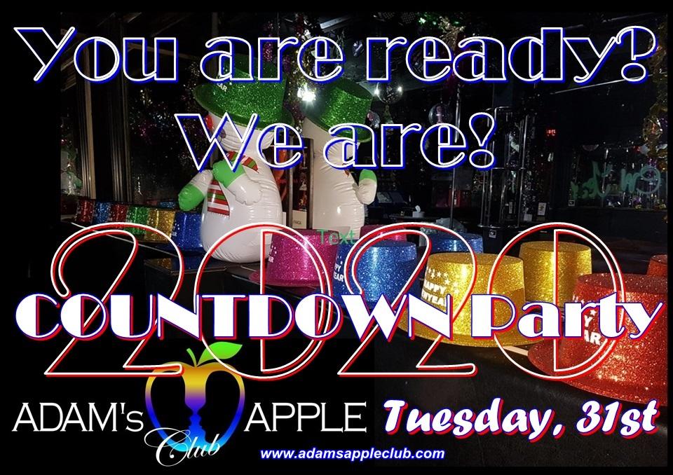 Silvester 2020 Party Adams Apple Club