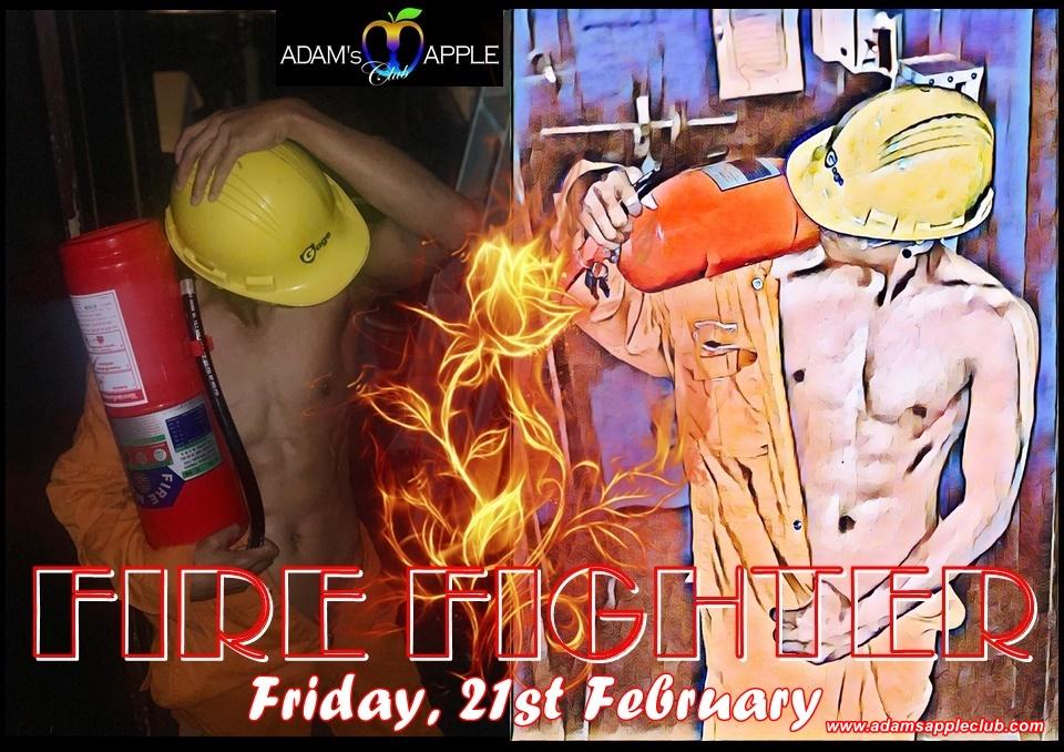 FIRE FIGHTER Adams Apple Club