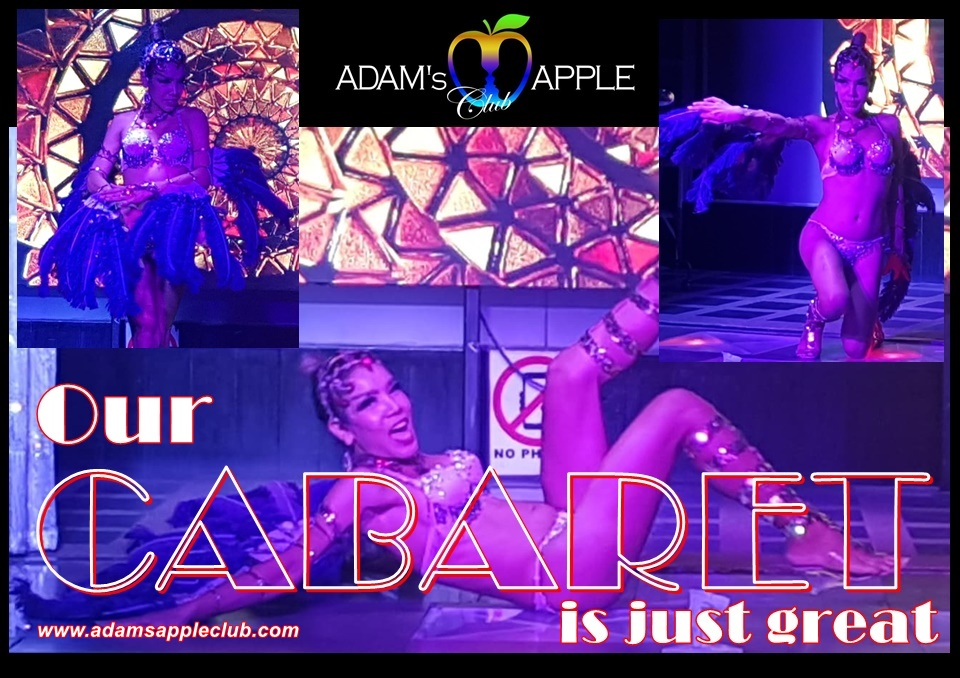 Our CABARET is just great Adams Apple Club
