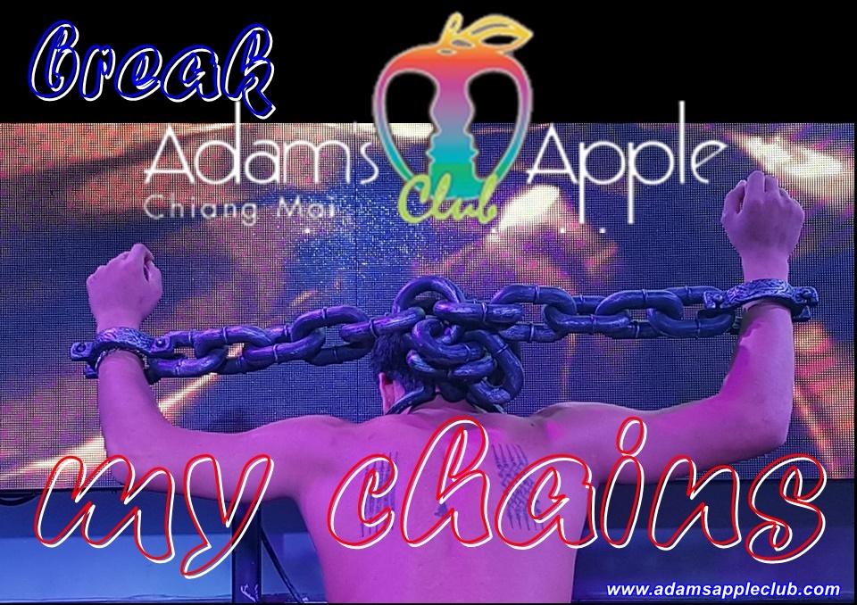 Break my chains Adams Apple Club