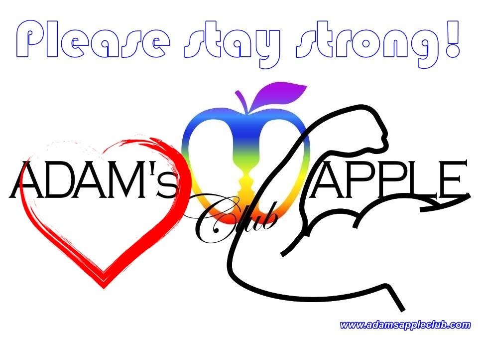please stay strong Adams Apple Club