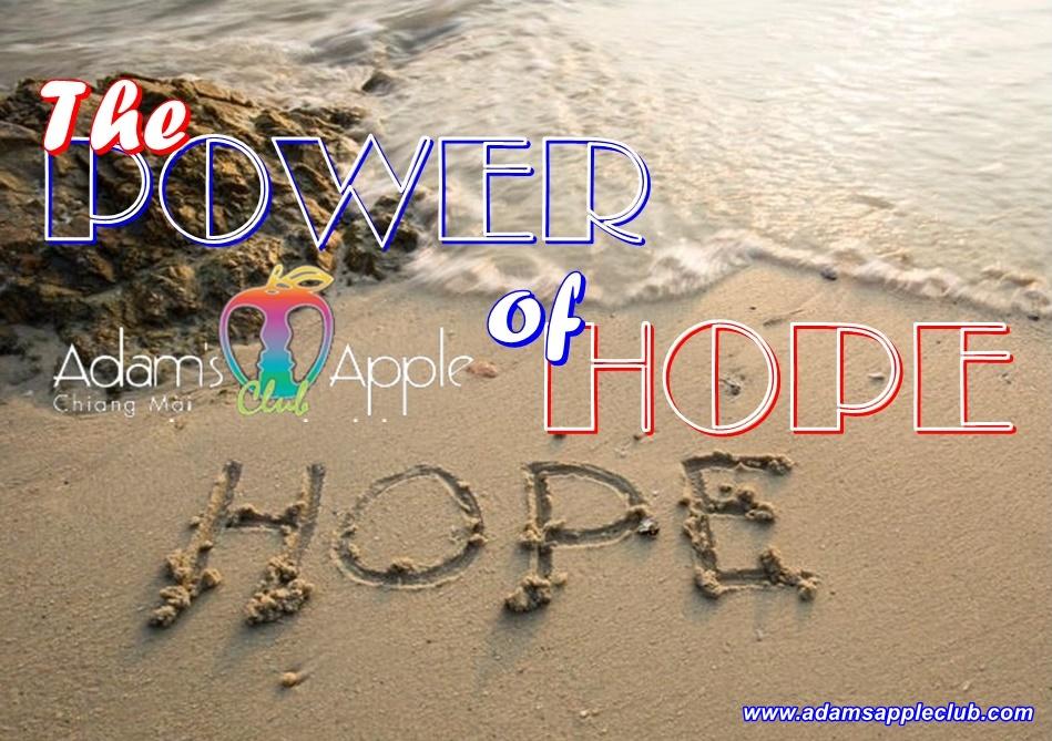 The power of hope Adams Apple Club