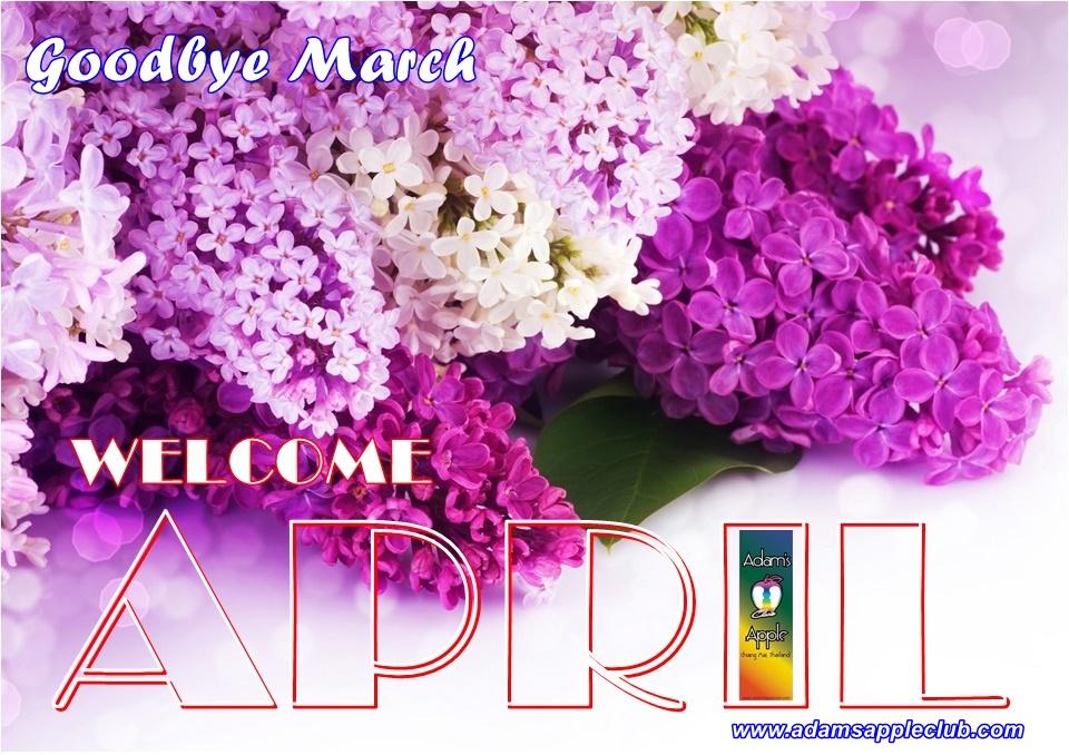 Welcome April 2020 Adams Apple Club