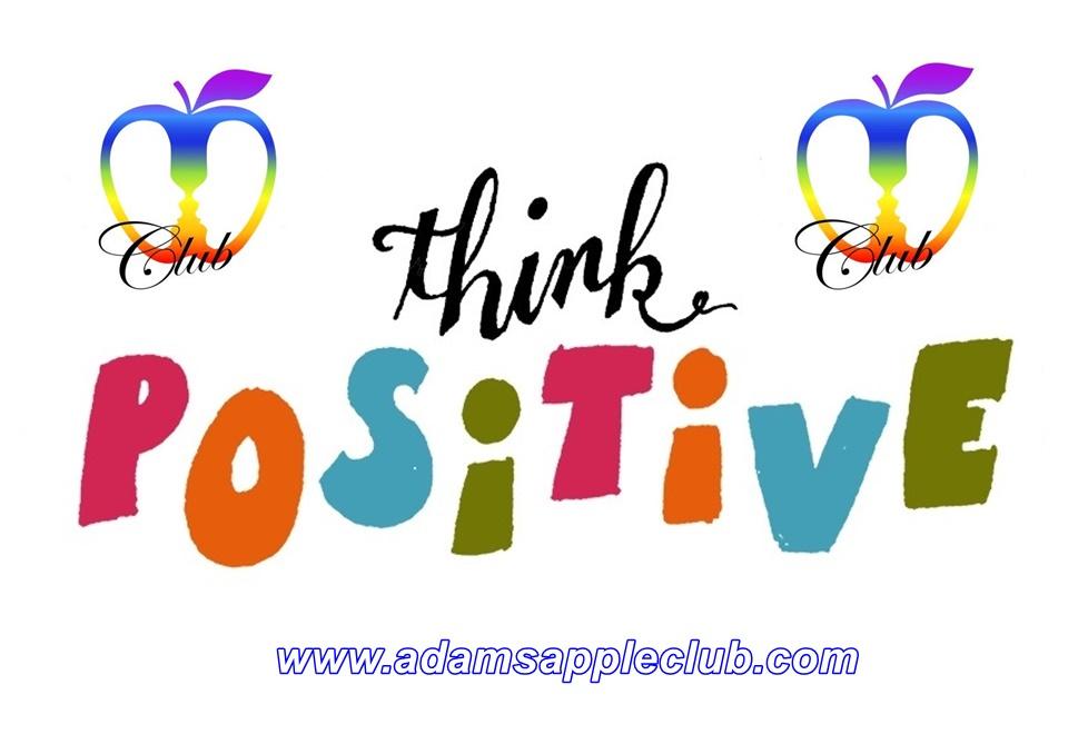 Think positive Adams Apple Club