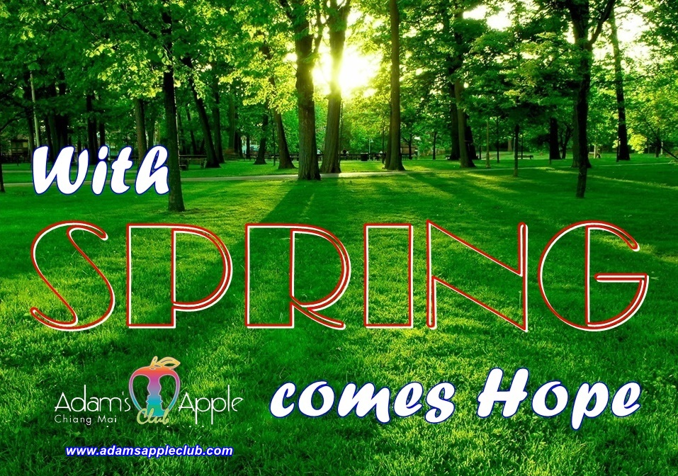 With SPRING comes Hope Adams Apple Club