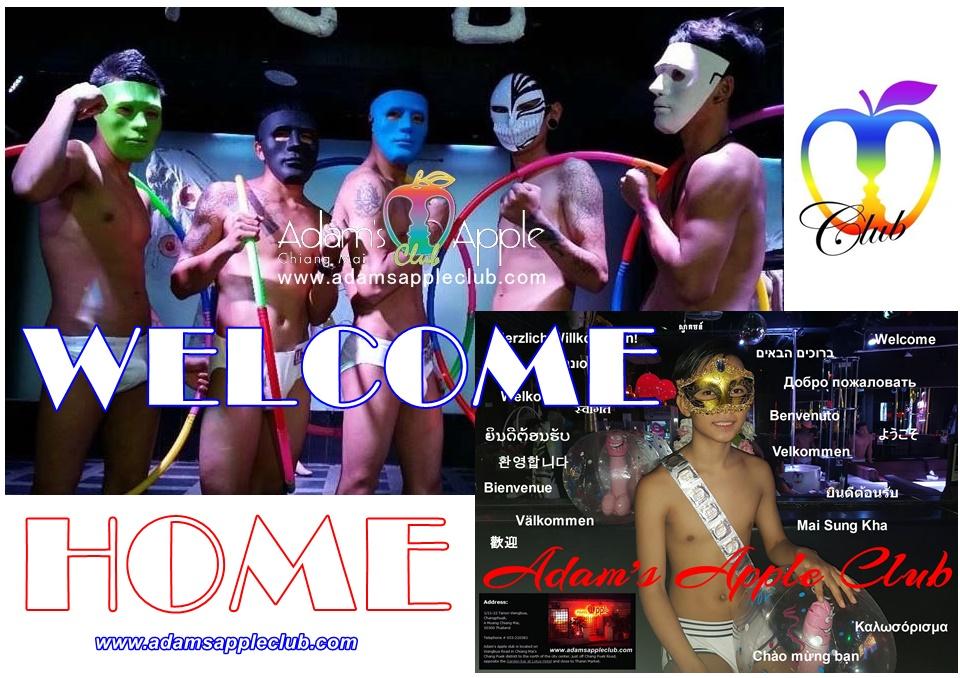Welcome Home Adams Apple Gay Club Ching Mai