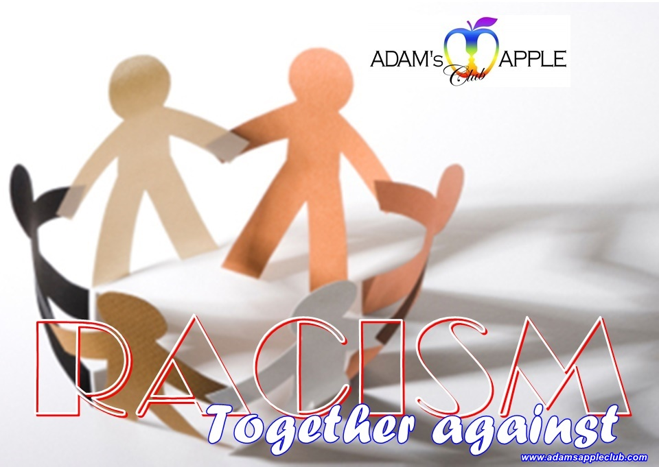Together against racism Adams Apple Gay Club Chiang Mai