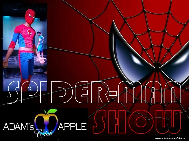 Spider-Man Show Adams Apple Gay Club Chiang Mai