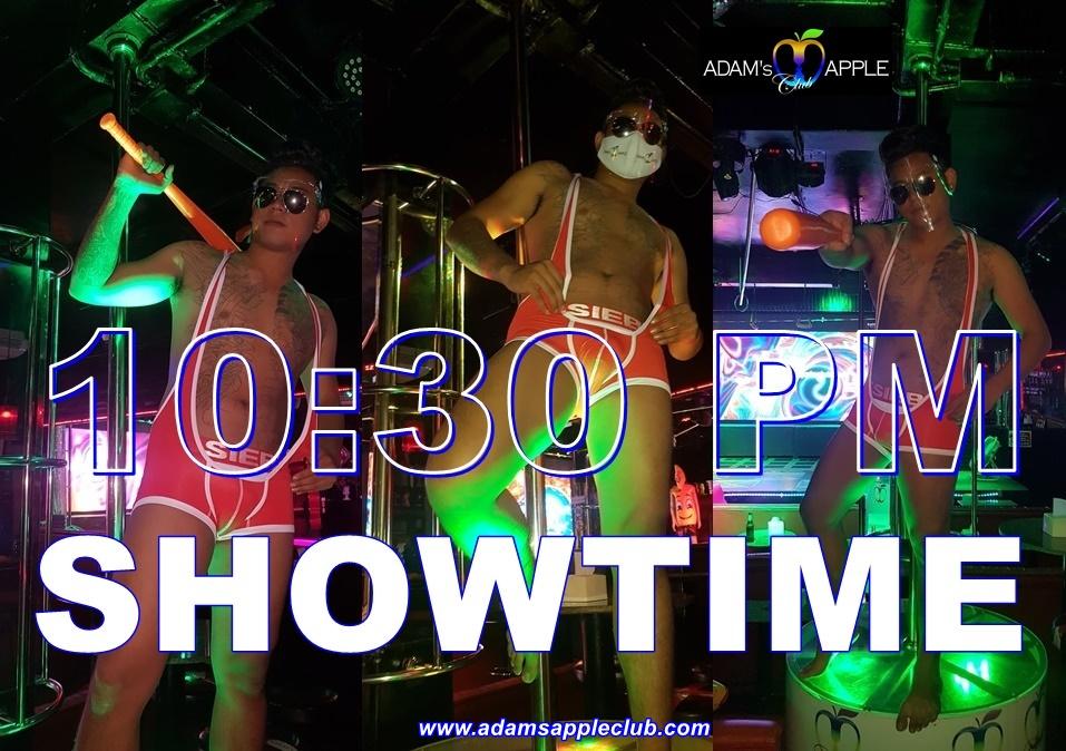 SHOWTIME Adams Apple Club Gay Bar Chiang Mai