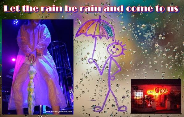 Ignore the rain Adams Apple Gay Club Chiang Mai