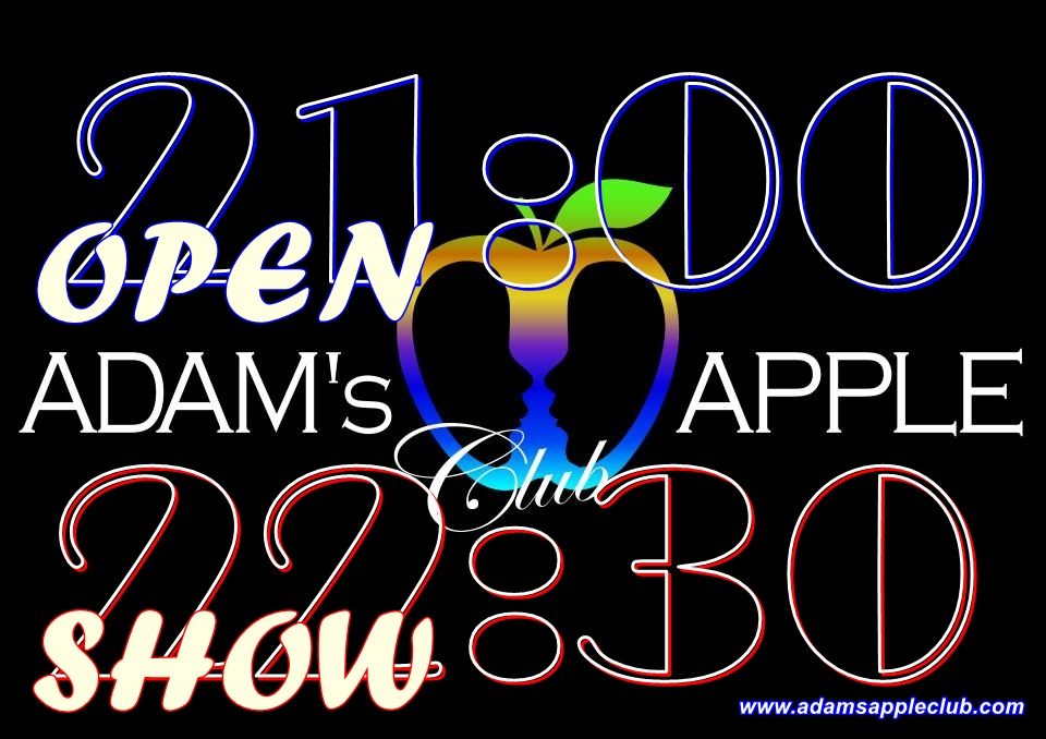 Opening Time and Show Time GAY Gay Bar Chiang Mai, Thailand