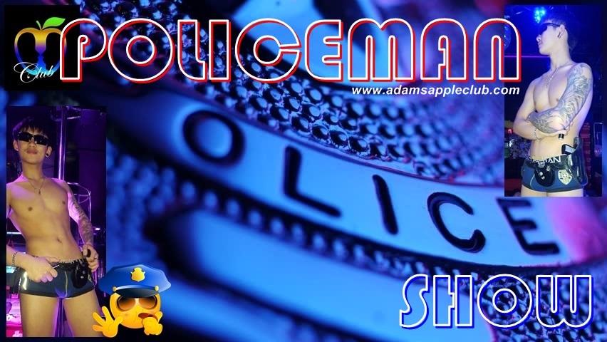 POLICEMAN Show Adams Apple Club Chiang Mai