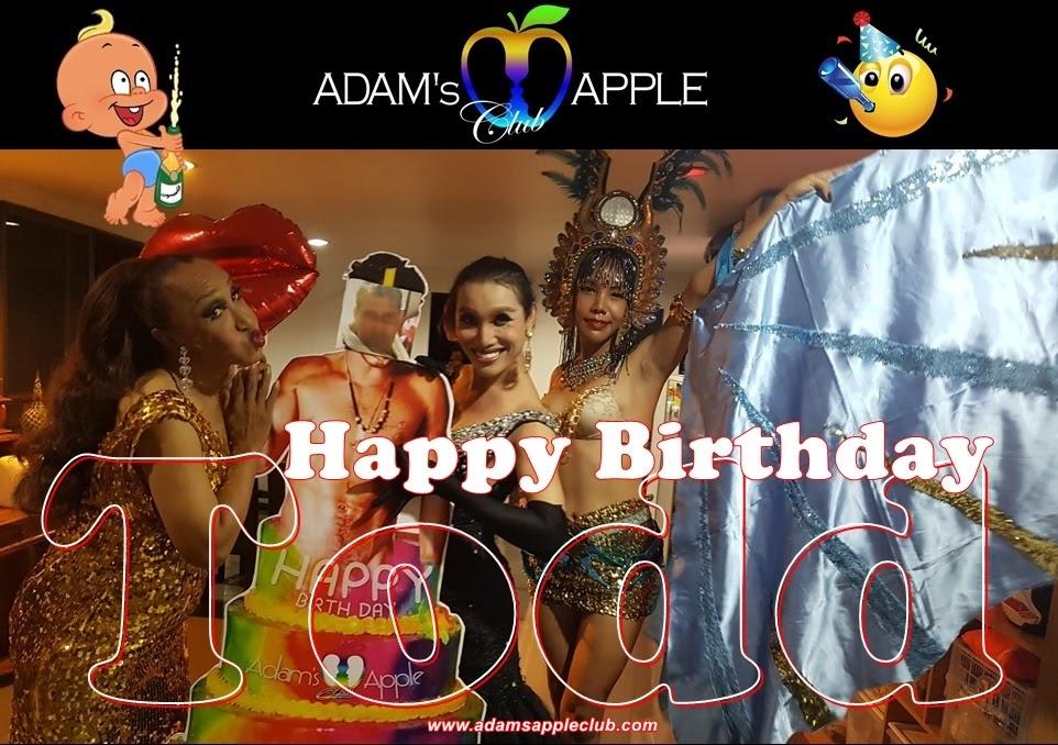 Happy Birthday Todd 2020 Adams Apple Club Chiang Mai