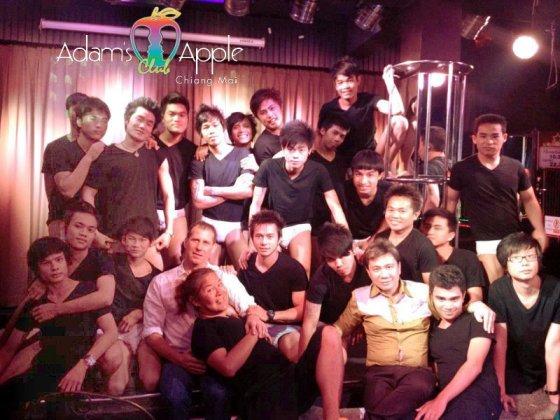 Memories Adams Apple Club Chiang Mai Gay Bar Host Bar