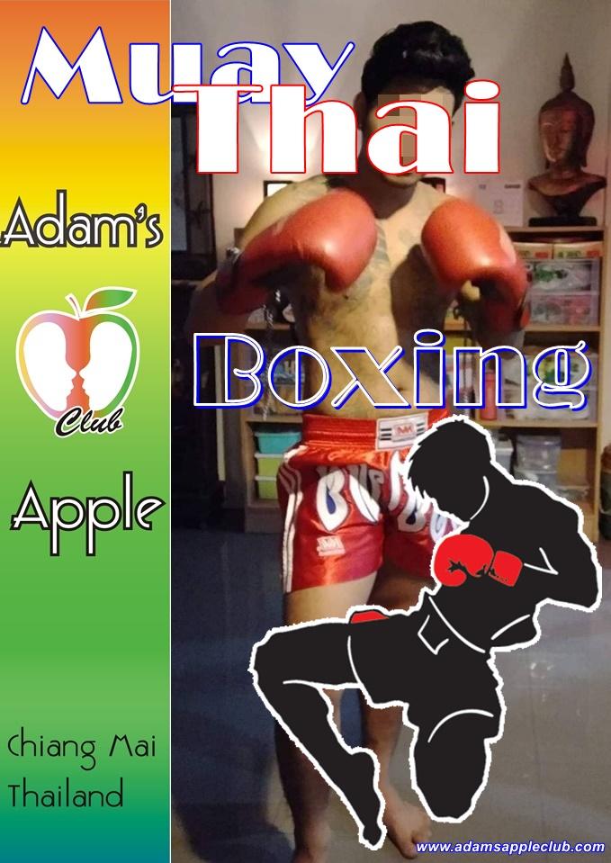 Muay Thai Boxer Adams Apple Club Chiang Mai Host Bar Gay Bar Thailand