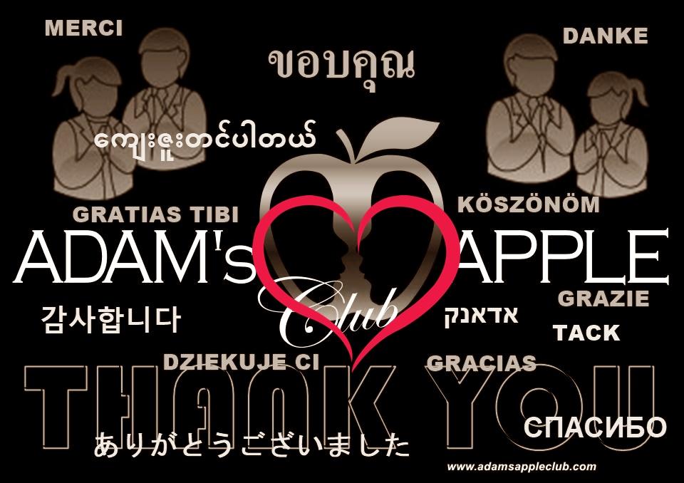 Thank YOU Adams Apple Club Host Bar Chiang Mai Thailand