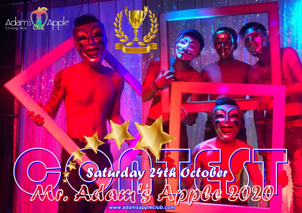 Mr Adams Apple 2020 CONTEST Adams Apple Club Chiang Mai Adult Entertainment