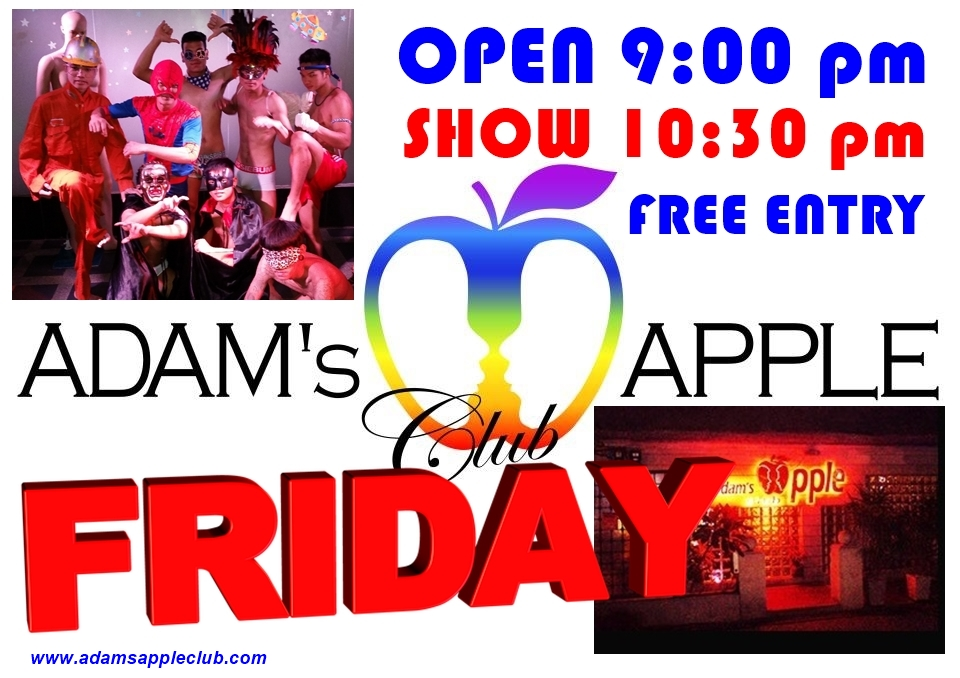 FRIDAY! Time for Adam's Apple Club Chiang Mai Adult Entertainment
