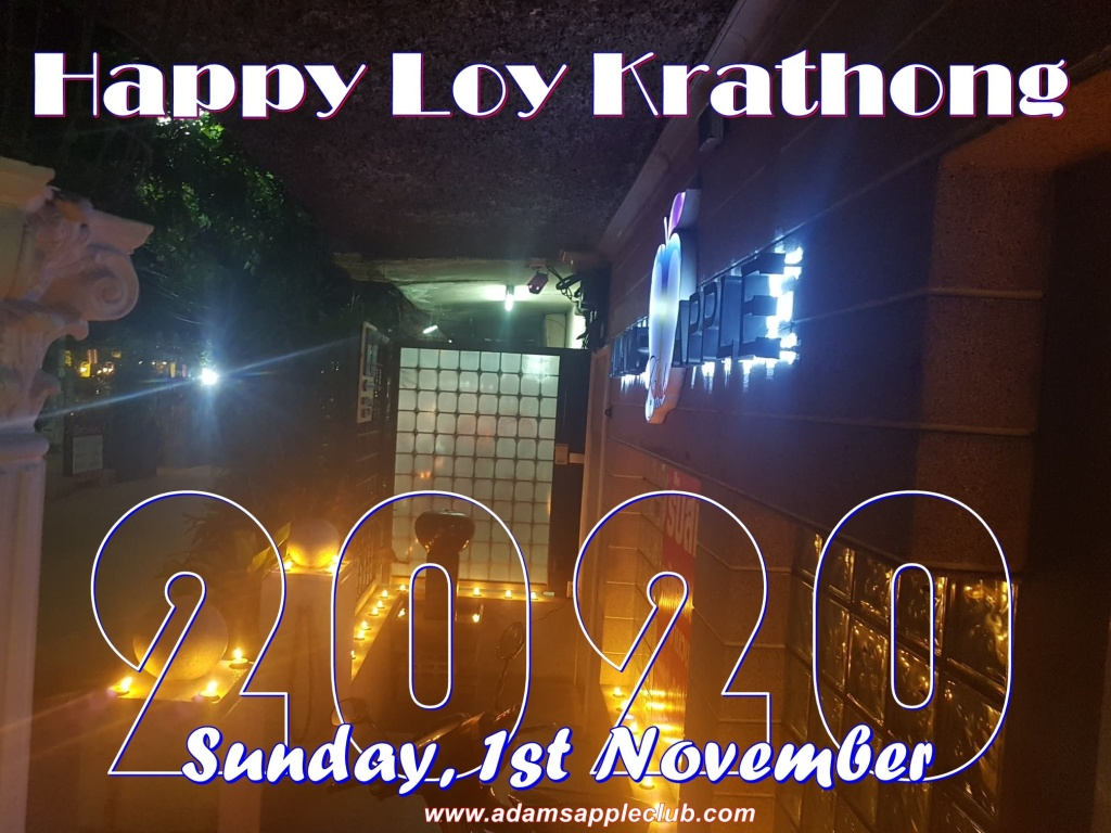 Loy Krathong 2020 Adams Apple Club Chiang Mai Adult Entertainment