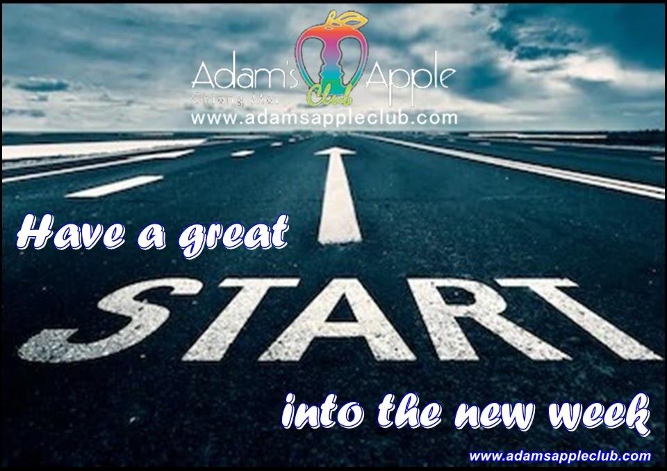 Have a good week! Adams Apple Club Adult Entertainment Chiang Mai