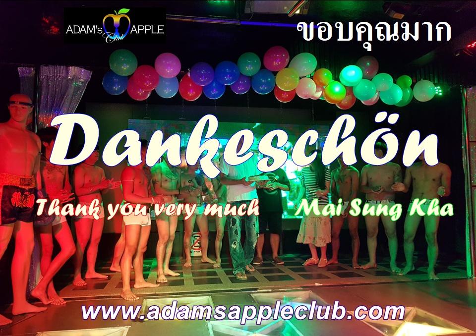 Dankeschön + Thank you very much + ขอบคุณมาก + Mai Sung Kha