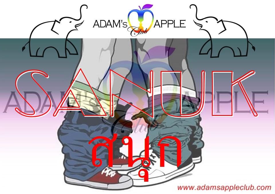 Sanuk Fun and more Adams Apple Club Chiang Mai Adult Entertainment Host Bar Gay Bar Ladyboy Nightclub Go-Go Bar