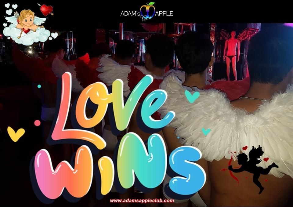 LOVE WINS Adult Entertainment Chiang Mai Host Bar Gay Bar Go-Go Bar Nightclub