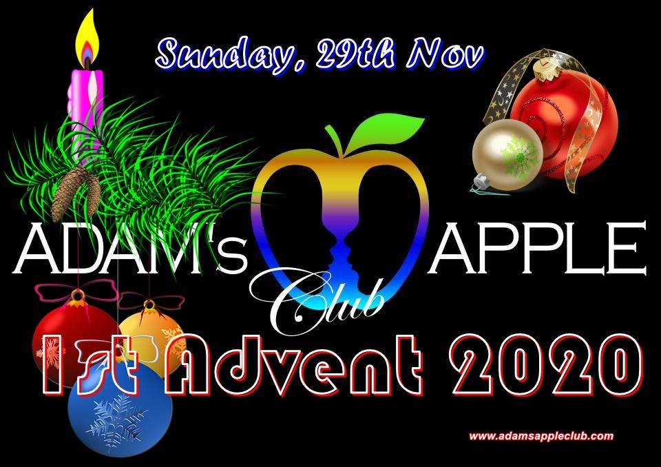 1st Advent 2020 Adams Apple Club Chiang Mai Adult Entertainment Gay Host Bar